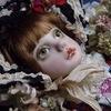 名品市に出す新作お人形