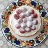 おうちカフェ 採りたて苺の手作りケーキは憧れの栄子さんのケーキ。
