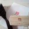 宇野刷毛ブラシのヘアブラシを買いました