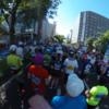 (北海道マラソン2016 覚え書き 〜2〜)スタートから10キロ地点。途中 中島公園、幌平橋、平岸通、南七条橋、創成トンネル