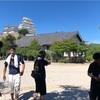 姫路城の写真は離れた場所からの方が綺麗かもしれません。