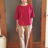 BIWACOTTON半袖ビッグTシャツ|琵琶湖の伝統綿「高島ちぢみ」がトレンディスタイルに