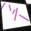 No.4【download印刷用】ちかっち(高海千歌ちゃん)の刺繍図案 #ラブライブ!サンシャイン  【 #マルのヨンコマ】