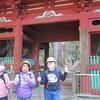 5年生:鳳来寺山デイキャンプ③ 1316段の石段を登る
