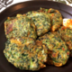 栄養モリモリで頑張るなら、マヨ豆板醤のモロヘイヤチーズチヂミ(糖質4.7g)で!