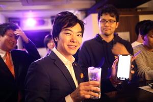 暗号資産(仮想通貨)Bar THE WUに音喜多駿(参議院議員)が来た!