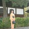 【コーディネート例】京都旅行!色無地と桜の宝尽くしで(4月下旬)