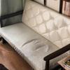 ソファ買い替え カリモク60 Kチェア→IKEA KARLSTAD カルルスタードの寝椅子