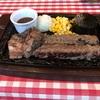 「肉スタ」でハンバーグとステーキ&サラダバーバイキングでお腹いっぱい食べる!またもや食べ過ぎた~!