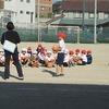 2年生:体育 キャッチボール