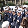 7月14日のパリの独立記念日祭り