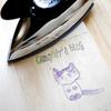 アイロン転写:好きなロゴや絵、文字を木や布にプリントする方法