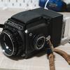 中判フィルムカメラをRaspberry Piを使ってデジタルカメラ化する「ZANGI BRONICA(ザンギブロニカ)」を開発中です