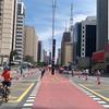 ブログ始めました。アベニーダパウリスタでの歩行者天国(ブラジル・サンパウロ)