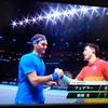 ATPツアーファイナルズで錦織選手がフェデラーに勝利!