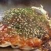札幌市 広島風お好み焼き ひなちゃん / カウンターで焼いてもらったお好み焼きを