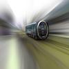 フォトショップ [Photoshop] 叡山電車のぼかし(放射状)チュートリアル