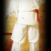 ニニギノミコトの装束試作品写真(笠沙・神渡之舞用)