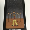 sun and moon tarot : nine of wands - strength