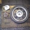 #バイク屋の日常 #ホンダ #リトルカブ #タイヤ