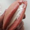 セブンイレブン、スイーツ「もっちり苺みるくどら」たべたおー!!^^