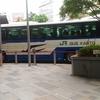 バスバス走る~♪名古屋に行ってくるわ~。
