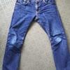 nudie jeans(ヌーディージーンズ) 1年3ヶ月 色落ちレポート