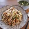 【コストコレシピ】丸ごとロティサリーチキンを夫婦二人で食べ切る!焼き飯とスープアレンジ。