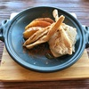 🚩外食日記(560)    宮崎ランチ   「ビストロカフェ Repos(ルポ)」⑥より、【とろ〜りモッツァレラチーズのミートパスタランチコース】‼️