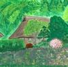 裏山の竹林