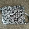 【かぎ針編み日記】長編みの引き上げ編み