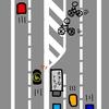 車を運転中危なく自転車をひくところだった・無理に車道を横断するのはやめて