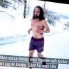 極寒の裸ランナー