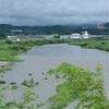 濁流が濁流を噛み梅雨出水(あ)