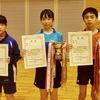 【 試合結果 】令和元年度第68回宮城県中学校総合体育大会卓球競技