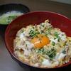 他人丼とサラダ菜とえのきの味噌汁 35