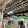 夜のなすの号と東海道線