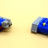 【アイロンビーズ3D】アニメ「機動戦士ガンダム」より、RX-75 ガンタンク(組み立て行程)
