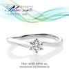 ふたりを包む穏やかな波間のエンゲージリング (高松 人気 婚約指輪)