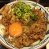 丸亀製麺/牛すき釜玉