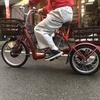 転びにくい電動アシスト三輪自転車 ラクット 試乗ができます。