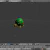 【Blender】取り込んだモデルをアニメーションさせる