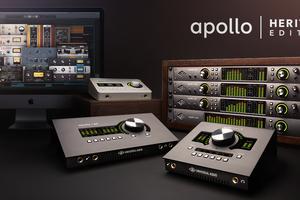 UNIVERSAL AUDIO Apolloラックおよびデスクトップ製品に、人気プラグインをバンドルした「Heritage Edition」が登場