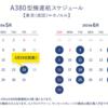 ANAの大型旅客機A380のホノルル線運用が5月24日金曜日に決定!予約はいつから?