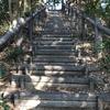 掛川の『さんりーな』の裏山に軽くトレッキングできるコースがあった。