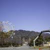 神戸王子動物園から摩耶山が見えるので、春が待ち遠しくなります。