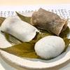 日本橋高島屋『一幸庵』長命寺桜餅、薄墨桜、道明寺、3種の桜餅を味わう。