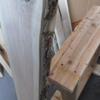 胡桃の荒材でワイルドな棚を作ろう!