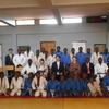 日本から来られた国会議員立会いのもと、古着の柔道着贈呈式をマラウイで行いました、、、