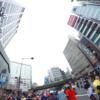 私の東京マラソン2015(3) やっと中間点〜歌舞伎座